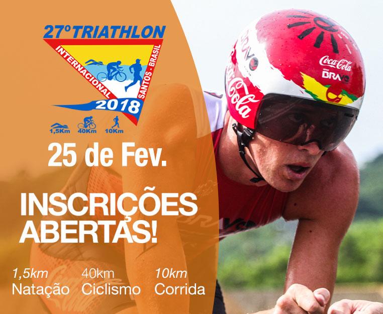 27º Triathlon Internacional de Santos